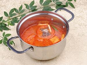 番茄牛尾锅